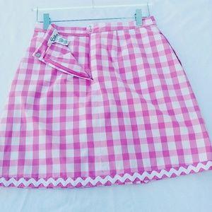 Lilly Pulitzer Shorts - Lilly Pulitzer Gingham Golf, Tennis Skirt / Skorts
